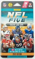 2019 Panini NFL Five Football Trading Card Game Blister Pack
