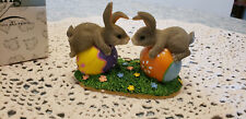 Fitz & Floyd Charming Tails Bunny Love Figurine