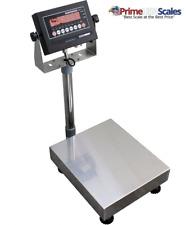 100 Lbs X 002 Lbs Optima Scale Op 915 Ntep Ip 65 Mild Steel Bench Scale