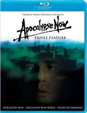 Apocalypse now (blue ray) (triple feature) New, Free shipping