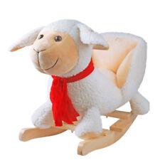 Schaukelpferd Schaukeltier Schaukelspielzeug Babyschaukel Spielzeug Schaf sound