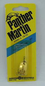 Panther Martin 4PMDG 1/8 Oz Deluxe Spinner Gold 22444