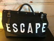 Forest Bound Black Canvas Escape Bag