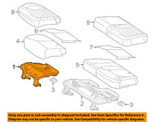 MERCEDES OEM 12-15 ML350 Rear Seat-Seat Frame Right 1669200422