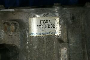 Schaltgetriebe Getriebe Hyundai Trajet 2001-2008 2,0 CRDi GEPRÜFT 5 Gang