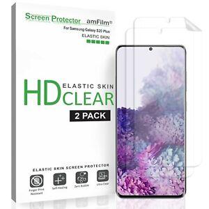 Samsung Galaxy S20 Plus amFilm Premium Real TPU Screen Protector Film (2 Pack)