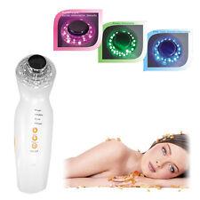 Ultraschall Gesicht 3MHz Pflege Massage Skin Care Licht Therapie