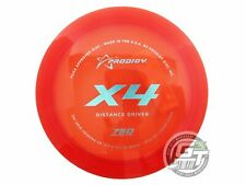 New Prodigy Discs 750 X4 174g Red Aqua Foil Distance Driver Golf Disc