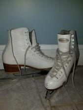 Riedell ice skates sz 6.5 w/ wilson excel blades
