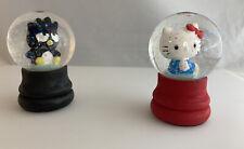 Sanrio Hello Kitty & Friends  Badtz Maru mini water globes NEW