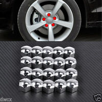 20x 17MM Wheel Lug Bolt Nut Cover Cap 321601173A For Audi A4 A5 A6 VW Jetta Golf