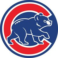 "Chicago Cubs MLB Color Die Cut Vinyl Decal Sticker - You Choose Size 2""-28"""