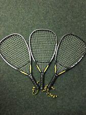 3 Demo Head Intelligence 165G Racquetball Racquets 3 5/8 Grip