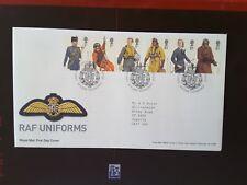 GB 2008 FDC RAF UNIFORMS - Tallents House PMK