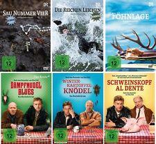 6 DVDs * HEIMATKRIMI - BAYERN - 6 FILME SET - Sebastian Bezzel # NEU OVP %