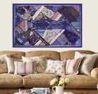 """33% OFF 60"""" PURPLE WALL HOME DECOR HANDICRAFTD EMBROIDERED WALL HANGING TAPESTRY"""