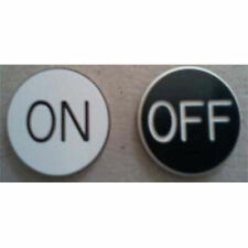 *New* On Off Puck Button, 3 Inch Diameter, Casino Dealer