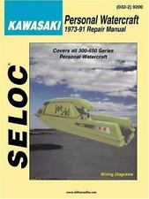 Personal Watercraft: Kawasaki 1973-91 (Marine Manuals)-ExLibrary