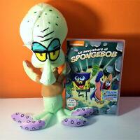 Spongebob dvd Le avventure di Spongebob + peluche: Squiddi Tentacolo 30cm circa