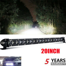 6D Slim LED Light Bar 20inch Single Row Led Bar for Jeep Offroad for SUV 4X4