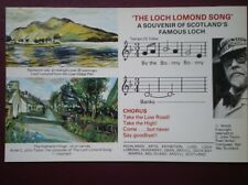 POSTCARD ARGYLLSHIRE APRIL IN ARGYL - ISLAND OF BEAUTY SHEET MUSIC