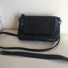 Anya Hindmarsh Black Leather Handbag - Gorgeous