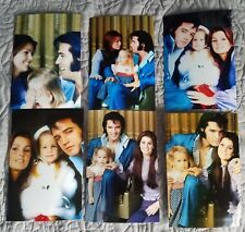 Elvis Presley with Priscilla & Lisa Marie 11 Photo Family Set, 1968-1971-NEW!
