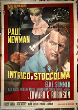 manifesto 4F originale THE PRIZE Paul Newman Elke Sommer Edward G. Robinson 1964