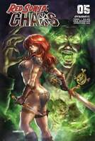 Red Sonja Age Of Chaos #5 Cover B Quah (07/15/2020)