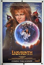 Labyrinth - original movie poster - 27x41 Advance Teaser - David Bowie