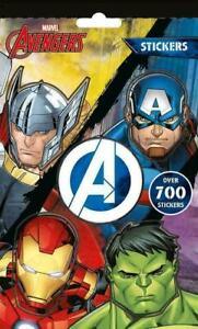 Over 700 Marvel Avengers Kids Sticker Book Stickers Creative Fun Activity New