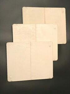 Lot of 3 The Ultimate Martial Arts board white rebreakable karate ATA taekwondo