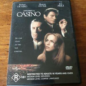Casino DVD R4 Like New! FREE POST