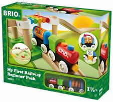 BRIO My First Railway Beginner Pack Train Set 33727 (18 Pieces) - New Design