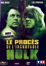 Le procès de l'incroyable Hulk DVD NEUF SOUS BLISTER