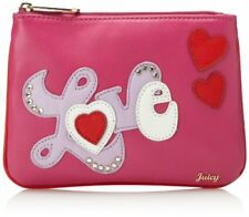 Juicy Couture Women's Wristlet Juicy At Heart Cosmetic Case Wristlet NWT