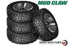 4 X New Mud Claw Radial M/T 32X11.50R15 113Q C BW All Terrain Performance Tires