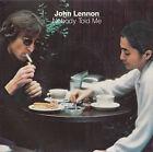 "JOHN LENNON Nobody Told Me PICTURE SLEEVE BEATLES 7"" 45 + juke box title strip"