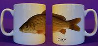 Common Carp coarse fishing angling mug personalised