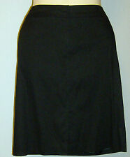 Tahari Skirt Size 6 New with Tags Finch Skirt Black New with Tags Linen Stretch