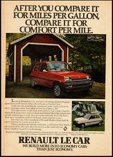 1980 vintage automobile ad for Renault 'Le Car'  -010112