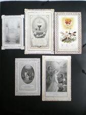 5 IMAGES PIEUSES CANIVETS XIXème