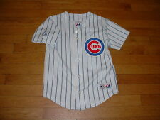 Vtg Majestic Chicago Cubs Nomar Garciaparra Baseball Jersey YOUTH S Sewn On