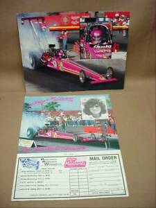 NHRA Shirley Muldowney Lady Champion Top Fuel Dragster Dodge Motorsports Photo