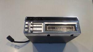 Car Pioneer 8 Track Tape Player TP-777 Vintage used