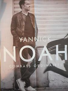 ▓ POSTER PROMO ▓ YANNICK NOAH : COMBATS ORDINAIRES