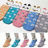 New 5 Pairs Cartoon Women Character Socks Girl Big Kids Cute Funny Fashion Socks