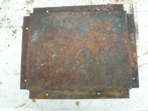 Model A truck bed pan spring cover banger flathead 28 29 30 31 hot rod rat Ford