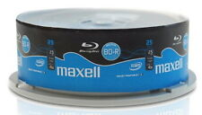 25 Maxell Rohlinge Blu-ray BD-R full printable 25GB 4x Spindel