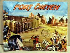 MONTAPLEX Sobre Oeste Western FORT CHEYEN soldaditos indios cowboys 70's airfix